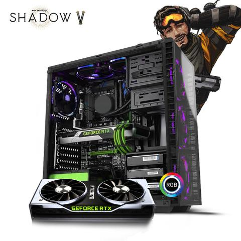 Imagem de Pc Gamer Neologic Shadow V NLI81180 Intel i5-9400F 16GB (RTX 2070) 1TB