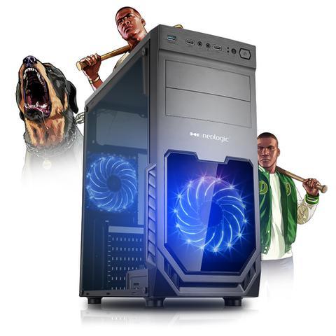 Desktop Neologic Start Nli81319 Amd Ryzen 5 2400 3.40ghz 8gb 240gb Amd Radeon Vega 11 Windows 10 Pro Sem Monitor