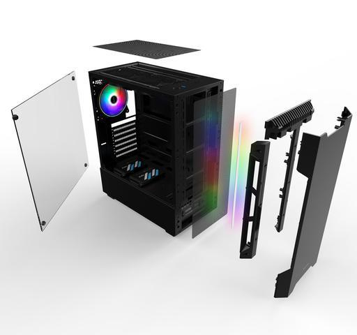 Imagem de Pc Gamer Smart Pc SMT81267 Intel i5 8GB (RX 580 8GB) 1TB