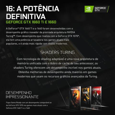 Imagem de Pc Gamer Smart Pc SMT81316 Intel i5 8GB (GeForce GTX 1660 6GB) 1TB