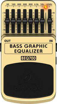 Imagem de Pedal Behringer  BEQ700 Graphic Equalizador Baixo