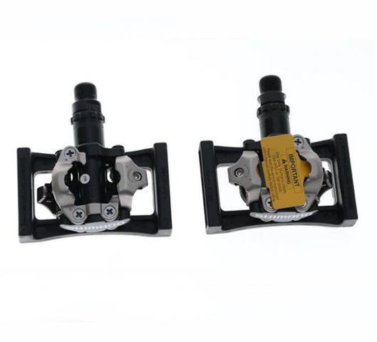 Imagem de Pedal Clip Shimano M520 Com Plataforma PD22 + Tacos SH51