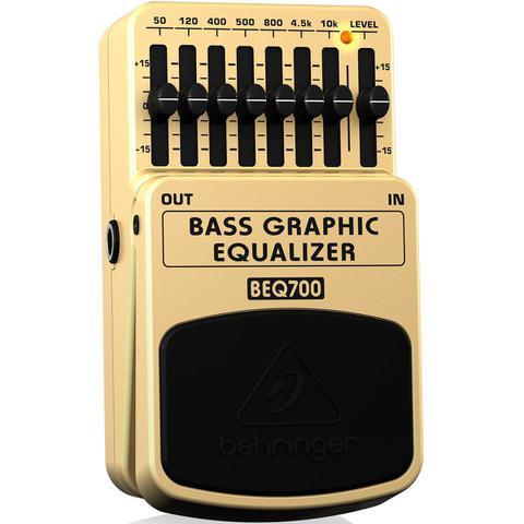 Imagem de Pedal de Efeitos Behringer BEQ700 Bass Graphic Equalizer