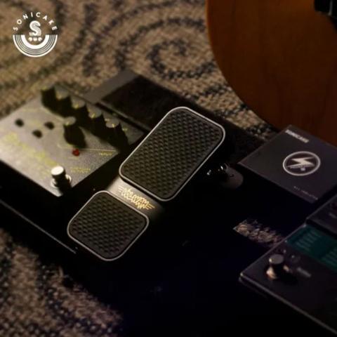 Imagem de Pedal de Guitarra Wah/ Volume 2 Em 1 Sonicake Qep-01