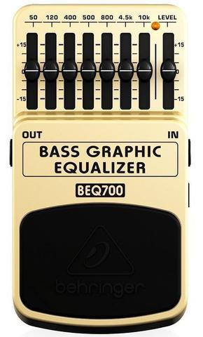 Imagem de Pedal Equalizador Para Baixo Multi-efeito Behringer BEQ700
