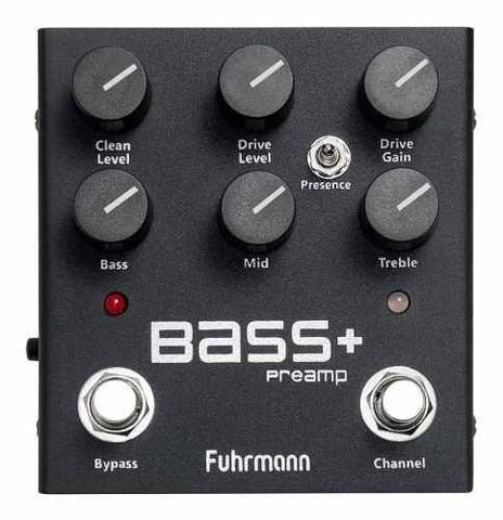 Imagem de Pedal Fuhrmann Bass + Pre Amp Contra Baixo