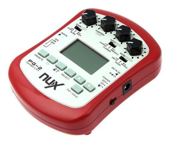 Imagem de Pedal Pedaleira Para Guitarra Nux - Pg2 - Portátil