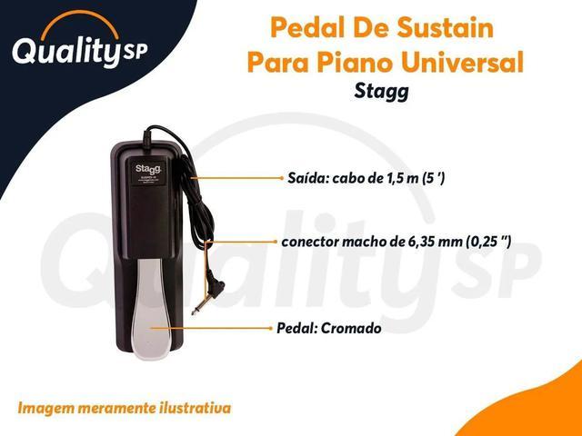 Imagem de Pedal STAGG De Sustain Para Piano Susped 10