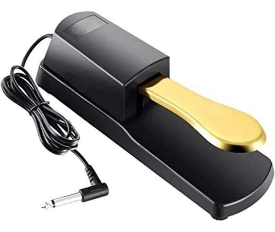 Imagem de Pedal Sustain Tb100 Gold para Teclados Pianos Y R C