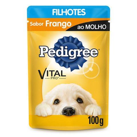 Imagem de Pedigree Sachê Sabor Frango Para Cães Filhotes 100g
