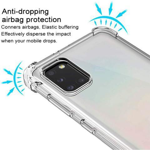 Imagem de Película 3d De Vidro Samsung Galaxy A31 + Capa Anti Impactos