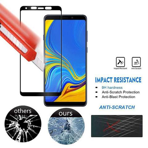 Imagem de Película 3D Vidro 100% Tela Samsung Galaxy A9 2018 Cobre Tela Inteira
