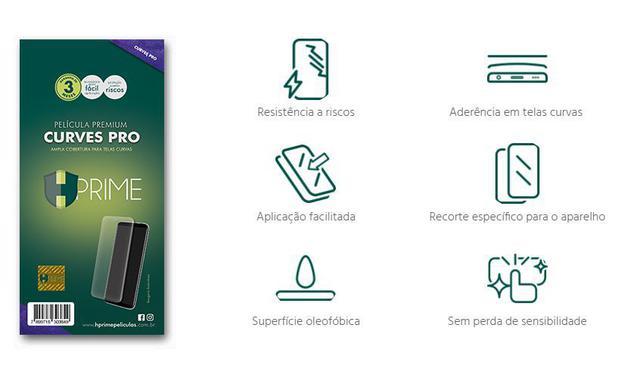 Imagem de Película Curves Pro De Gel HPrime Motorola Moto Edge Plus