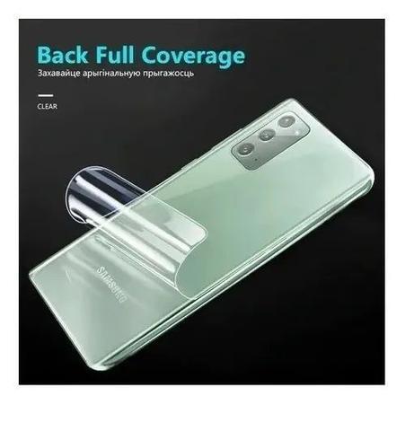 Imagem de Película De Nano Gel Flexivel Frente e Verso Anti Risco Motorola Moto G8 Play
