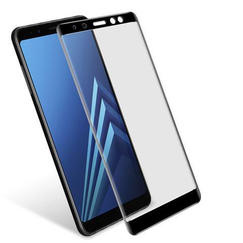 Imagem de Pelicula de Vidro 3D Samsung Galaxy A8 2018 Tela Toda