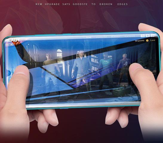 Imagem de Película De Vidro Curvada Cola Uv Galaxy S20 Tela 6.2