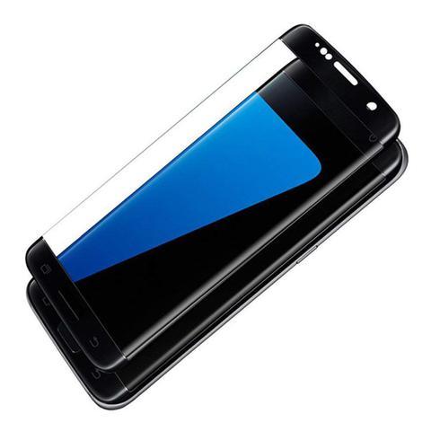 Imagem de Pelicula de Vidro Curvada com Borda Preta Samsung S7 Edge