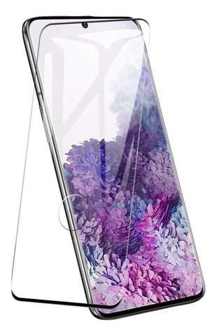 Imagem de Pelicula De Vidro Curvada Full Cover 3D Samsung Galaxy S20