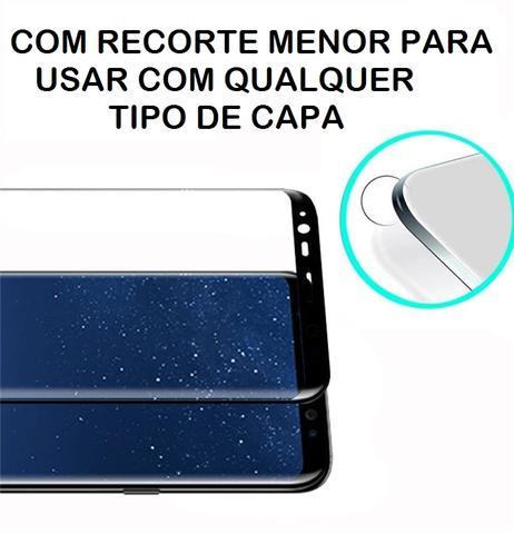 44f858f7d Imagem de Pelicula De Vidro Galaxy S8 Plus - 5D Curvada Cola a Tela Toda