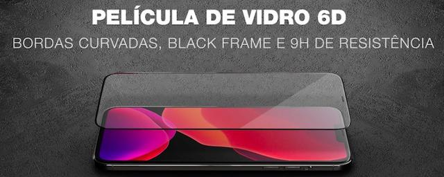 Imagem de Película de Vidro Temperado 6D Anti Queda 9H Curvada LG K50S