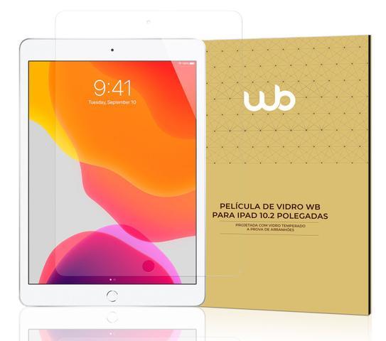 Imagem de Película De Vidro Temperado 9H WB para iPad 10.2'' 7ª e 8ª Geração