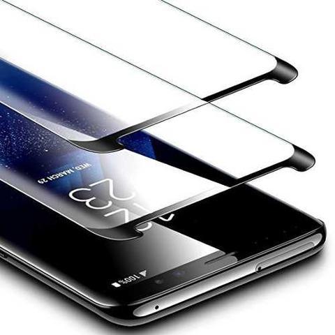 Imagem de Pelicula Galaxy S9+ Plus C/ Cola Tela Toda 3d Curva Bordas Samsung celular
