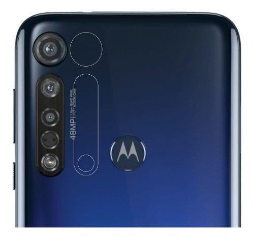 Imagem de Película Gel Frente e verso + Película Câmera Moto G8 Plus