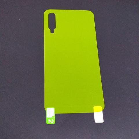Imagem de Película Gel TRASEIRA - VERSO para Samsung A50 Normal - Película Gel para celular  Pronta Entrega com Envio Imediato