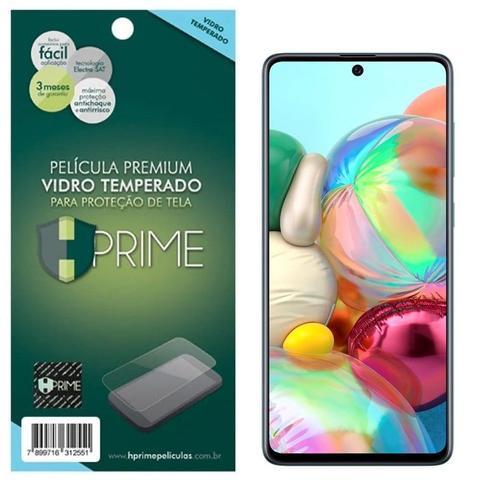 Imagem de Película HPrime para Samsung Galaxy A71 - Vidro Temperado Transparente