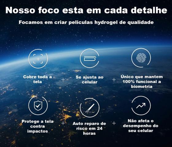 Imagem de Pelicula Motorola Edge Hydrogel HD Frente e Verso - 100% Transparente