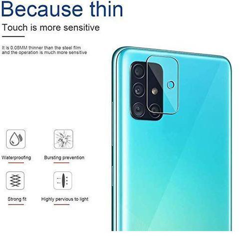 Imagem de Película Nano Gel Flexível P/ Lente de Câmera Samsung Galaxy A51