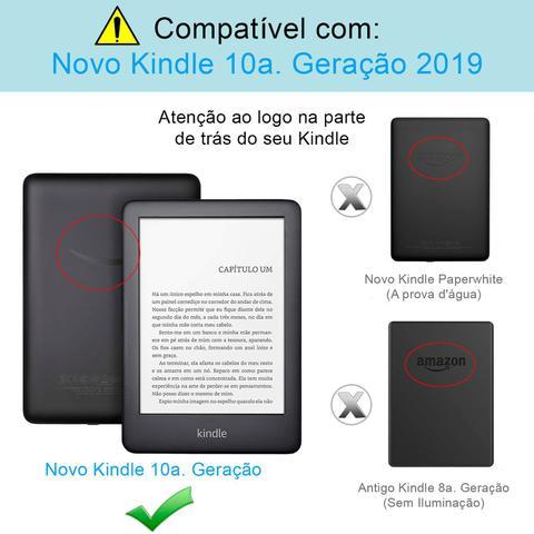 Imagem de Película Novo Kindle 10a Geração Fosca Anti-Risco Anti-Poeira Anti-Uv