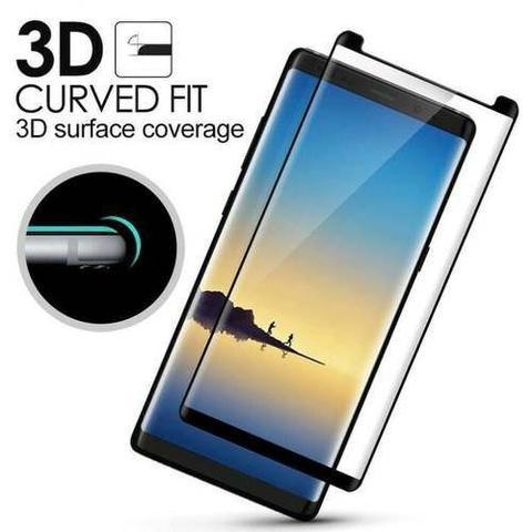 Imagem de Pelicula Samsung Galaxy Note 8 7 3d Vidro Temperado 9h Glass