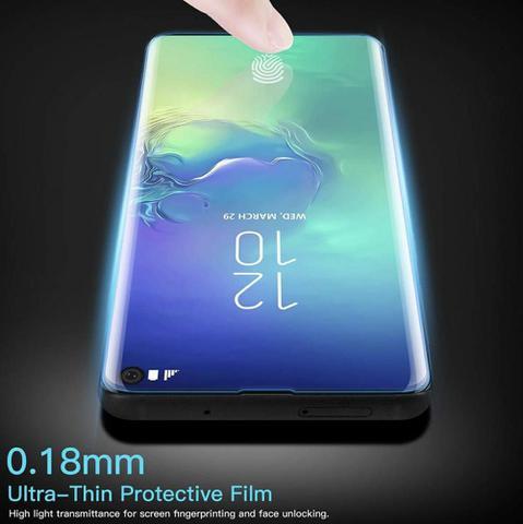 Imagem de Película Samsung Galaxy S10 Plus Nano Optics Curvada Full body Vidro Temperado
