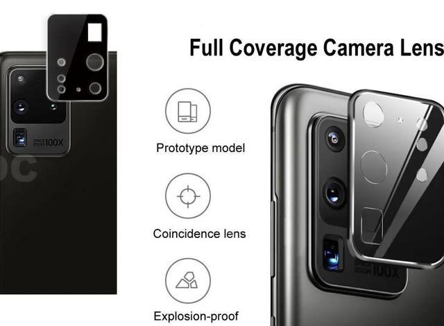 Imagem de Películas Nano P/ Lente de Câmera Samsung Galaxy S20 Ultra
