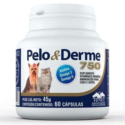 Imagem de Pelo e Derme 750 mg - 60 comprimidos