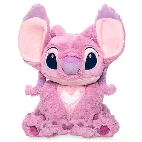 Imagem de Pelúcia Angel Lilo  Stitch - Tamanho Médio - Disney Store