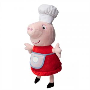 Imagem de Pelúcia Peppa Pig Chef 38 cm - Estrela
