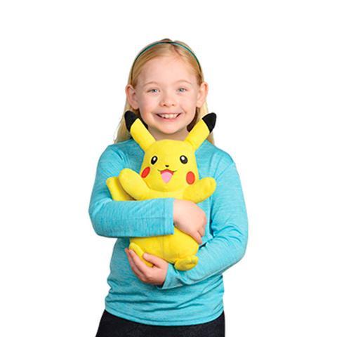 Imagem de Pelúcia Pokémon Pikachu Power Action com Luz e Som - DTC
