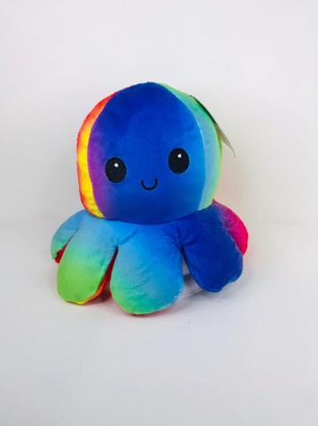 Imagem de Pelúcia Polvo Colorido Reversível YTL1250 Pequeno