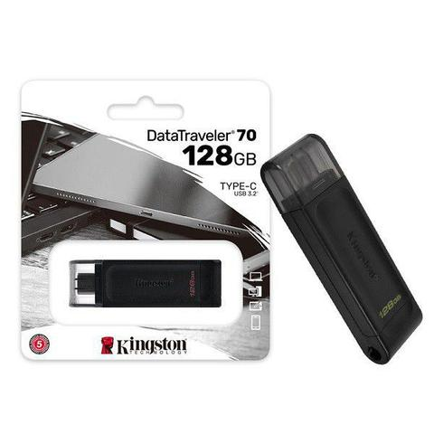 Pen Drive Kingston Data Travaler 128gb - Dt70
