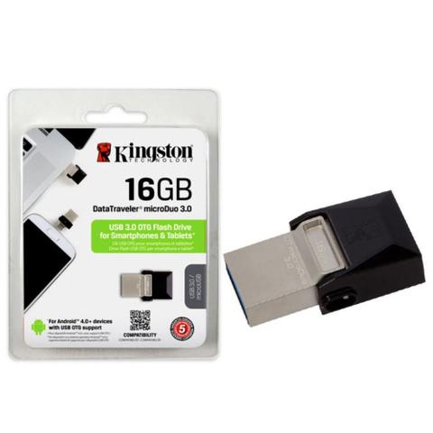 Pen Drive Kingston Microduo Otg 3.0 16gb - Dtduo3
