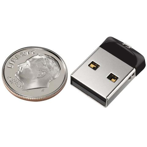 Imagem de Pen Drive 16gb Sandisk Ultra Mini Cruzer Fit Nano Original