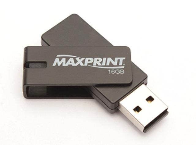 Pen Drive Maxprint Twist Hi-speed 16gb