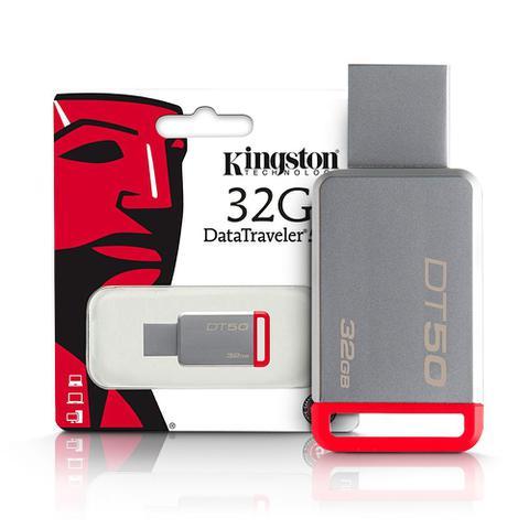 Imagem de Pen Drive 32gb Usb 3.1 DataTraveler DT50/32GB Kingston