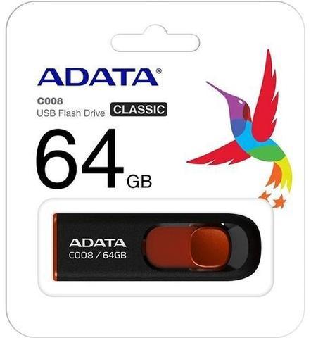 Pen Drive Adata Flash Drive 64gb - Ac008