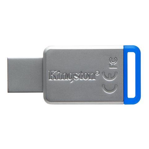 Imagem de Pen drive 64gb usb 3.1 datatraveler dt50/64gb kingston
