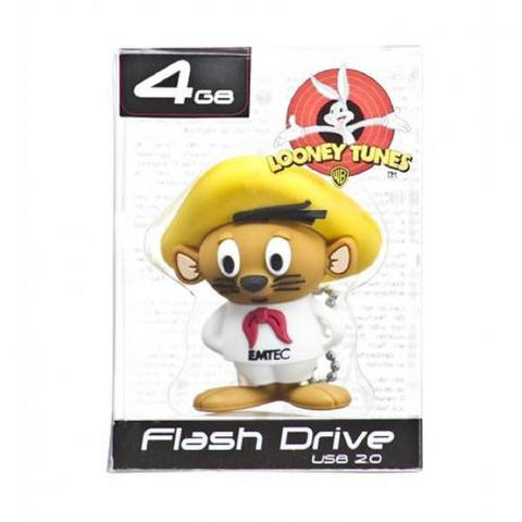 Pen Drive Emtec Looney Tunes - Ligeirinho 4gb