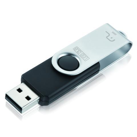 Imagem de Pen Drive Multilaser Twist 2.0 32GB USB Leitura 10MB/s e Gravação 3MB/s Preto - PD589