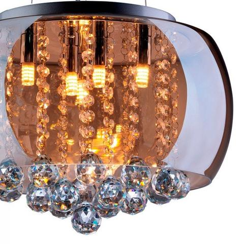Imagem de Pendente Âmbar Attractive 40cm Startec Vidro e Cristal
